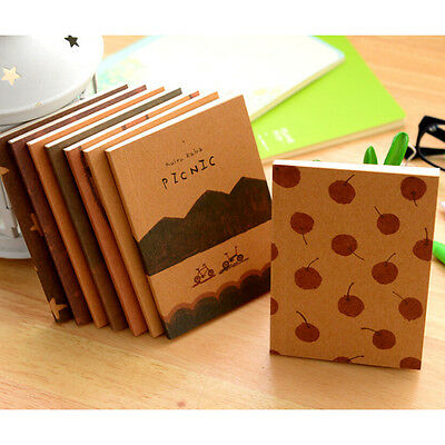 NEW 1X Handmade Journal Memo Dream Notebook Paper Notepad Blank Diary FT