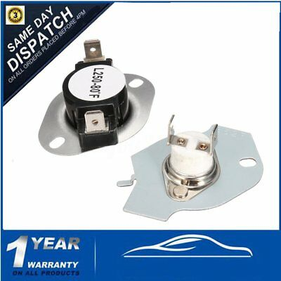 279769 3389946 Dryer Thermostat Fuse Cut Off Kit for Whirlpool Kenmore Maytag
