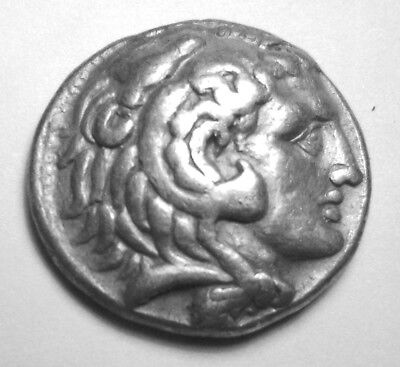 ALEXANDER III, THE GREAT. AR TETRADRACHM. BABYLON. Ref. 1220.