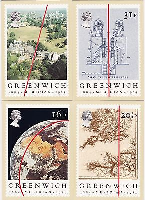 Post Cards United Kingdom PHQ Series 1984 31 Cards all different Mint