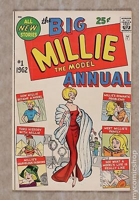 Millie The Model Annual #1 1962 VG+ 4.5