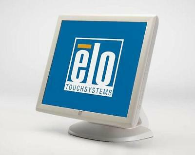 """ELO TouchSystems 19"""" Touch Screen Monitor ET1928L USB mit orig. Standfuss beige"""