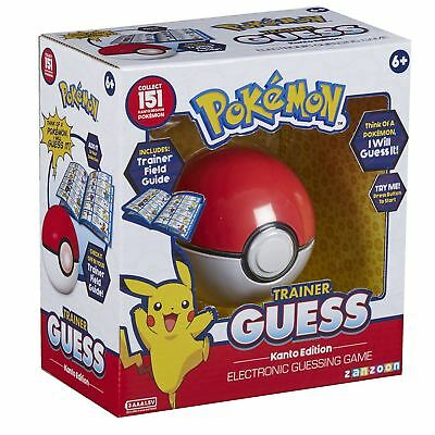 Pokemon Trainer Guess Who Pokeball Kanto Edition Electronic Guessing Game