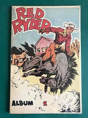 Red Ryder : Superbe Tome 1a Craquant Neuf (Harman)