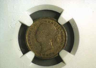 1889 CANADA 10 cents cent Canadian Dime Graded NGC G4 Key Date coin No Reserve!