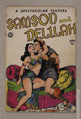 Spectacular Feature Magazine Samson and Delilah #11 1950 GD+ 2.5