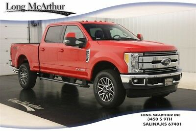 2017 Ford F-350 LARIAT 4X4 SUPER DUTY CREW CAB 4WD TURBO DIESEL NAV MSRP $68575 REMOTE START ULTIMATE TRAILER TOW CAMERA FX4 OFF ROAD PACKAGE