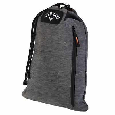 Callaway Golf Clubhouse Draw String Golf Travel Shoe Bag/Tote