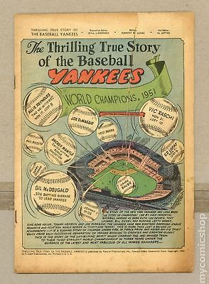 Thrilling True Story of the Baseball Yankees #0 1952 Coverless 0.3