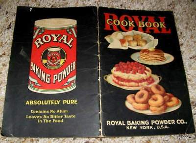 Royal Baking Powder Cookbook 1925 Cook Book