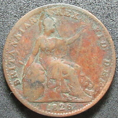 1826 Great Britain Penny Coin