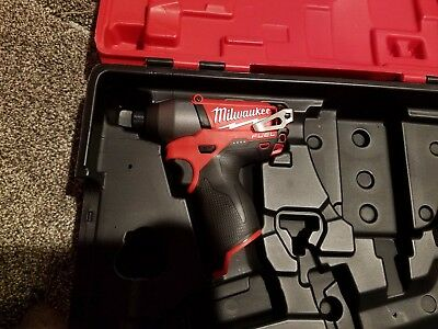 "Milwaukee 2453-20 1/4"" hex M12 FUEL cordless Impact Driver"