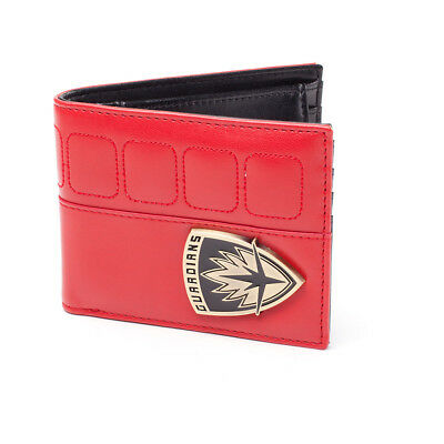 Guardians of the Galaxy Vol. 2 Guardians Shield Logo Bi-Fold Wallet Red/Black