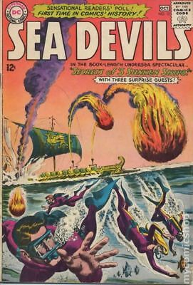 Sea Devils #13 1963 GD/VG 3.0 Stock Image