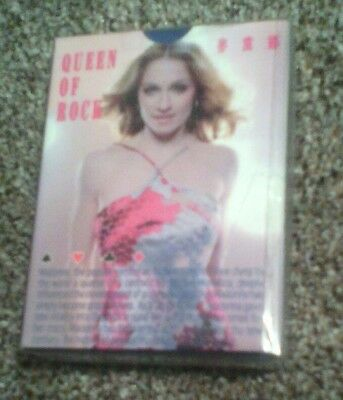 Madonna - set of playing cards in pack SEALED RARE MUSIC REBEL HEART