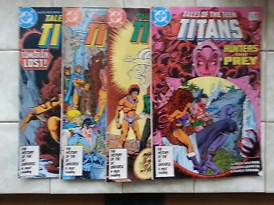 Tales of the Teen Titans #'s 75 - 77