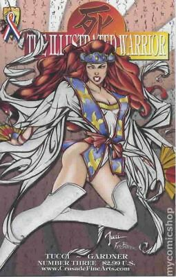 Shi The Illustrated Warrior #3A 2002 VF Stock Image