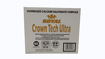 10 Pk Royal Crown Tech Ultra Food Grade Calcium Sulfonate Grease 15Oz Tubes