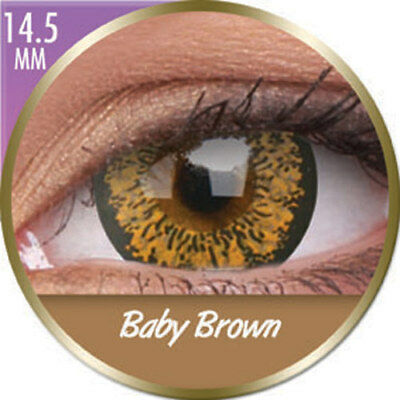 Lentilles big eyes baby brown phantasee (mensuelles) Phantasee