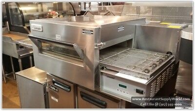 "Lincoln 1116 Impinger II 18"" Conveyorized NG Oven, 110v/60Hz/1Ph"