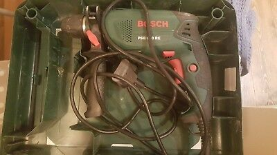 Bosch PSB 680 RE Hammer Drill; barely used in good condition