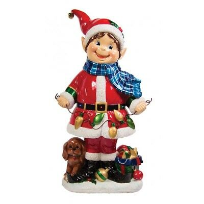 Lightup Indoor / Outdoor LED Christmas Elf - 94cm