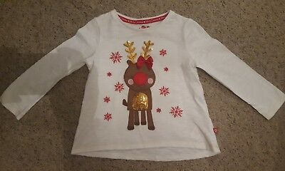 Baby Girl Christmas Top age 18-24 months
