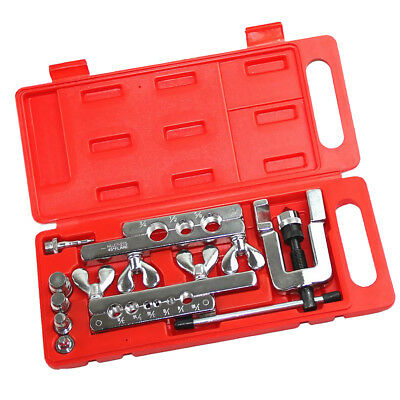 1/8''-3/4'' Flaring and Swaging Tool Kit for Refrigeration Soft Copper Tube