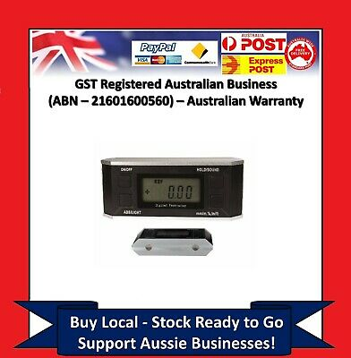 Digital Protractor Gauge Angle Level Inclinometer Magnetic Base ( 0 - 360° )