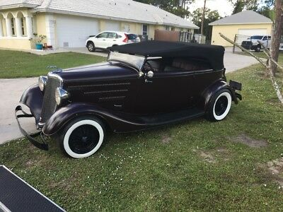 1934 Ford Other  1934 Ford Two Door Phaeton all steel
