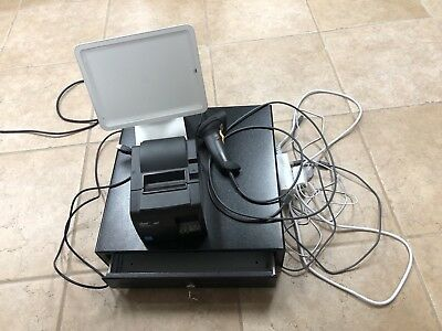 Square Stand Bundle with Cash register, scanner and printer