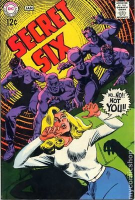 Secret Six (1st Series) #5 1969 VG/FN 5.0 Stock Image Low Grade