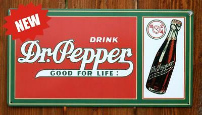 Dr. Pepper Steel Metal Sign Retro Vintage Home Decorative Accents Tin Sign