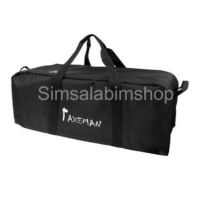 130L Outdoor Sports Tote Duffle Bag Luggage Travel Duffel Suitcase Black XL