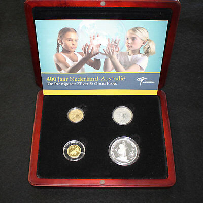 2006 Duyfken - Voyage of Discovery - Four Coin Prestige Gold and Silver Coin Set