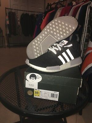 ee16272b2 Adidas Men s NMD R1 Black Reflective Champs Sports Exclusive Size 10.5