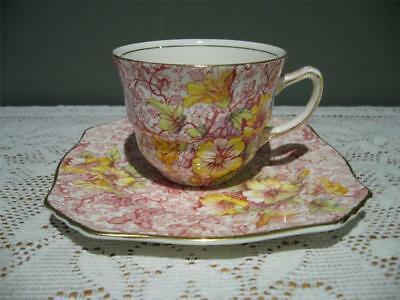 Royal Winton Grimwades England 'dorset' Teacup & Side Plate - Gc