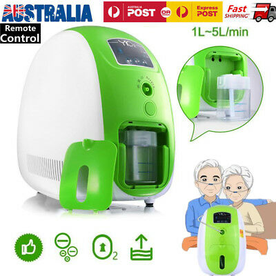Portable 1-5L/min Full Intelligent 90% Oxygen Concentrator Generator Machine