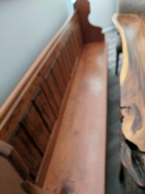Church Pew,Timber,Antique