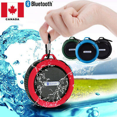Portable Waterproof Wireless Car Bluetooth Shower Music Speaker Handsfree MIC CA