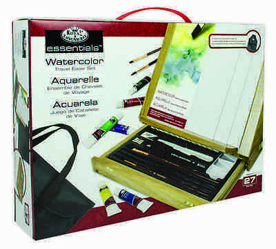 Artist Watercolour Painting Set Storage Easel Paints Brushes Palette Bag Rea4902