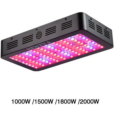 BESTVA Plus Series 1000W 1500W 1800W 2000W LED Grow Plant Light Full Spectrum