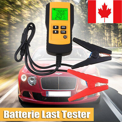 Digital Auto Vehicle Car Battery Tester Meter Battery Analyzer Diagnostic Tool
