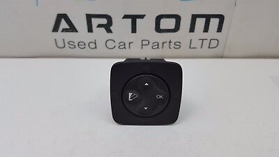 Renault Grand Scenic Mk3 Digital Switch Control Button 283950001R