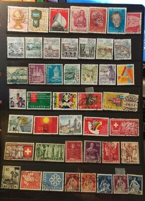 Switzerland  Stamps Selection used L26