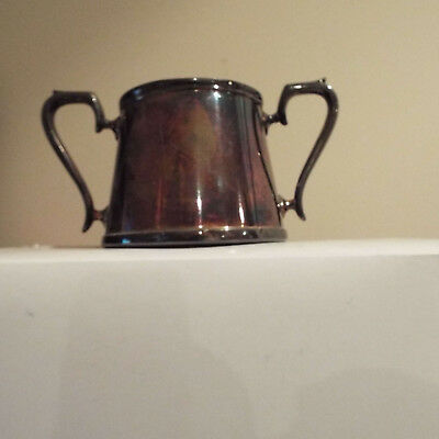 SUGAR BOWL, epns hallmarked