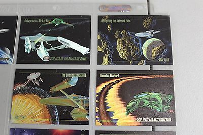 MINT Star Trek MASTER SERIES ONE trading card base set w/inserts & promos 1993