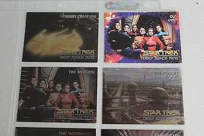 Star Trek Deep Space 9 set 100 cards & 5 spectra chase cards 1993 + premiere 48