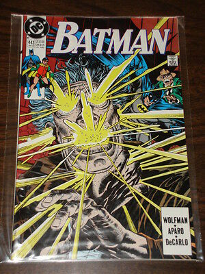 Batman #443 Dc Comics Dark Knight Nm Condition January 1990