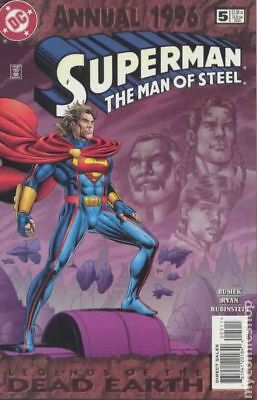 Superman The Man of Steel Annual #5 1996 VG Stock Image Low Grade